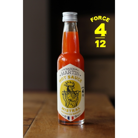 Sauce piquante mistral (100ml)