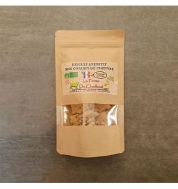 Biscuit apéritif aux graines de chanvre BIO