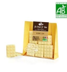 Mini tablettes gourmandes chocolat blanc