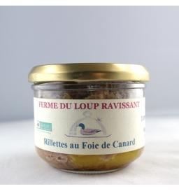 Rillettes de foie gras de canard (180g)