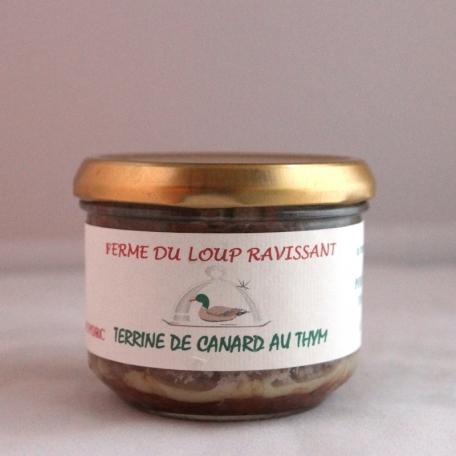 Terrine de canard au thym (180g)