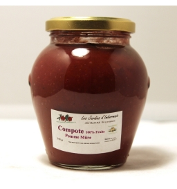 Compote pomme/mûre (33cl)