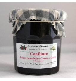 Confiture de fruits rouges (350g)