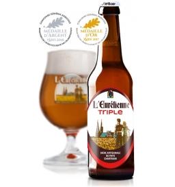 Bière triple Eurélienne (33 cl)