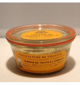 Terrine de truite à l'oseille (180 g)