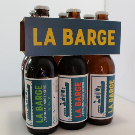 Bière La barge pack de 6 bouteilles (33 cl)