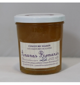 Confiture d'ananas romarin (385g)