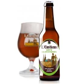 Bière de printemps Eurélienne (33 cl)