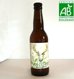 Bière BIO de printemps Volcelest (33 cl)