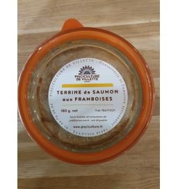 Terrine de saumon aux framboises (180 g)