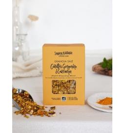 Granola BIO salé carottes, gingembre & curcuma (150g)