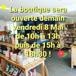 La boutique reste ouverte demain comme d'habitude, les livraisons de vendredi auront bien lieu aussi ! 🐞🍓🍓🍏 #ecocinelle #locavore #vrac #produitslocaux #circuitcourt #paniers #laqueuelezyvelines