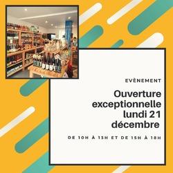 Actu boutique !! Nous serons exceptionnellement ouvert lundi 21 décembre 2020 de 10h à 13h et de 15h à 18h 🤩 🙃🎄🎉🎁#ecocinelle #boutique #cadeaunoel #local #produiteniledefrance----- Ecocinelle boutiqueEpicerie indépendante ouvert du mardi au vendredi : 10h-13h / 15h-19h et le samedi : 9h30-13h30 / 15h30-19h 12 rue nationale 78940 LA QUEUE LEZ YVELINES Tél :09 51 52 49 48 ---- Parking à 20 mètres ------ N'hésitez pas à liker, partager, commenter et donner votre avis sur google pour nous soutenir ! ------ #local #vrac #locavore #vracindependant #zerodechet #ecoresponsable #zerowaste #antigaspi #yvelines #produiteniledefrance
