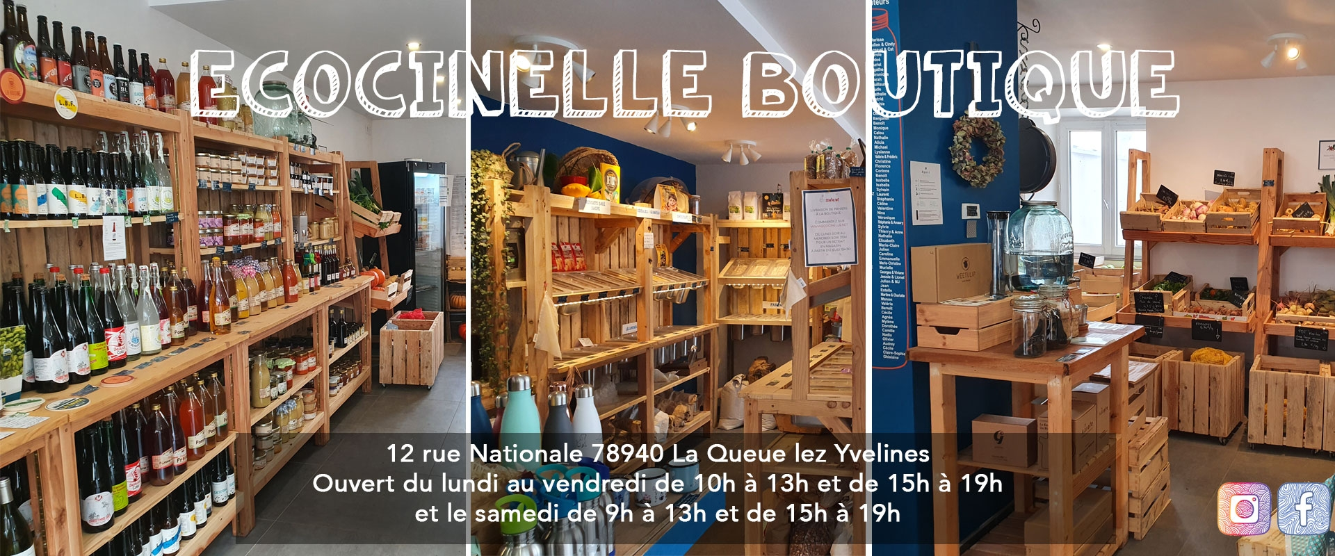 Ecocinelle Boutique - La queue lez Yvelines